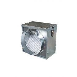 Короб под фильтр для круглых каналов с фильтром EU3