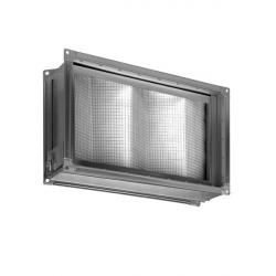 Короб под фильтр для прямоугольных каналов с фильтром EU3